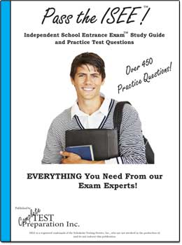 ISEE Test Prep Book