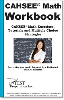 CAHSEE Workbook Cover