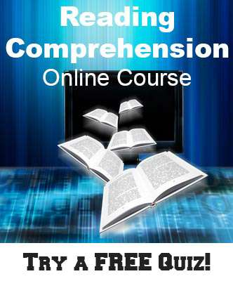 Reading Comprehension Online Course