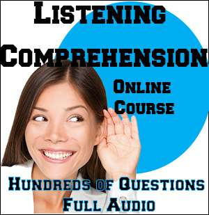 listening Comprehension Online Course