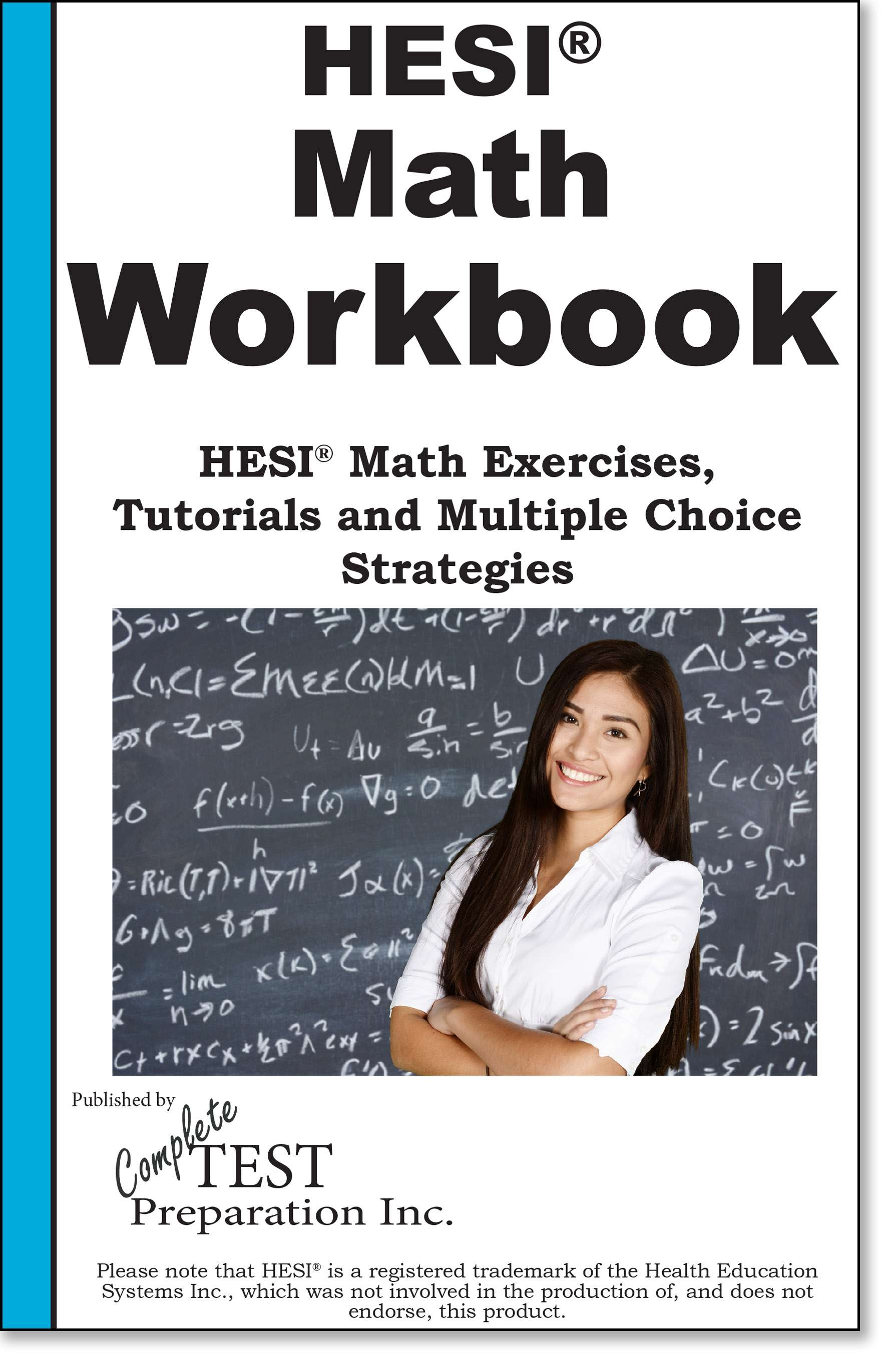 75 Hesi Math Practice Questions And Workbook Increase